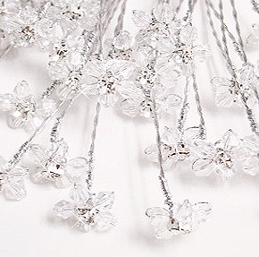 Dazzling Crystal Jewels for Your Bouquet