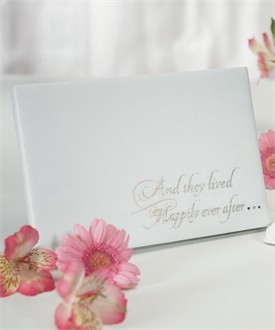 Dreams Do Come True Wedding Guest Book