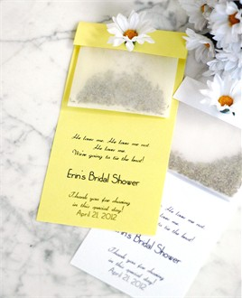 Decorative Daisy Seed Favors - Garden Wedding Favors