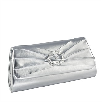 Noelle Silver Evening Purse by Touch Ups