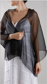Chiffon Wrap - in 30 Colors! - Organza Shawl