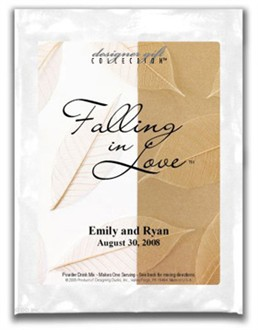 Falling in Love Personalized Cocktail Mix Favors
