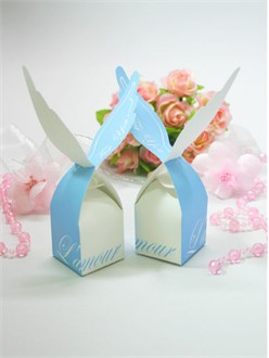 Blue Angel Favor Boxes