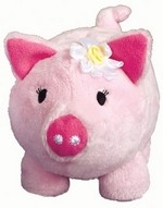 Flower Girl Piggy Bank