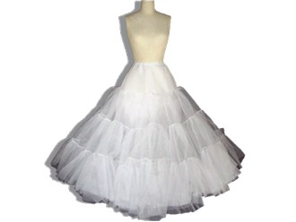 Full Crinoline Slip without Cover Skirt