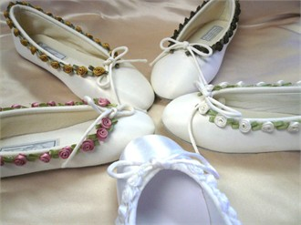 Flower Girl Ballet Slippers