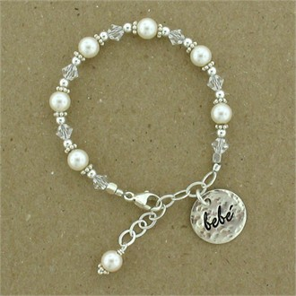 Girls' Bracelet with Bebe Charm