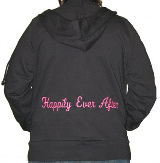 Happily Ever After Embroidered Hoodie