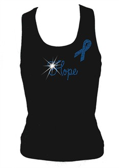 Hope Awareness Ribbon Tank Top