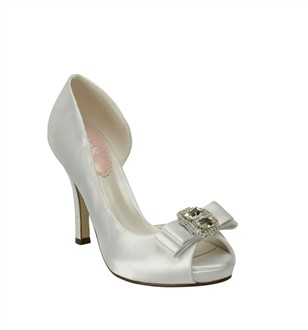 Pink Bridal Shoes: Hot by Pink Wedding Shoes