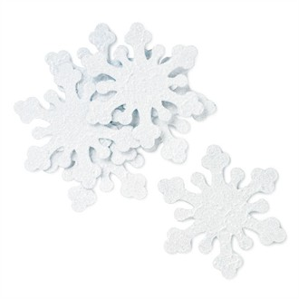 Iridescent Snowflake Decors for Stationery and Favors
