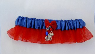 University of Kansas Garter - UK Garter