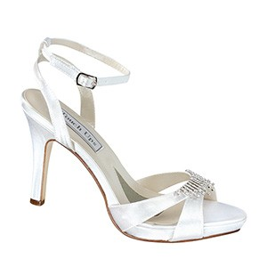 Leticia Satin Dyeable Wedding Shoes by Touch Ups