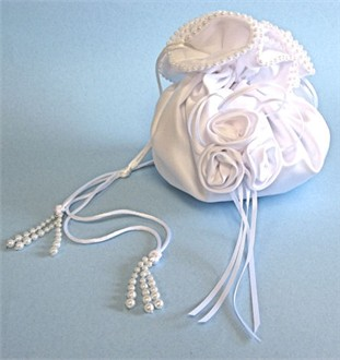 Matte Satin Bridal Pouch