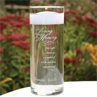 In Loving Memorial Cylinder