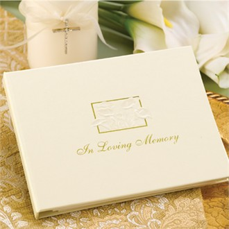 Wedding Unity Candle: In Loving Memory Guest Book