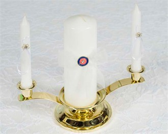 Military Wedding Unity Candle