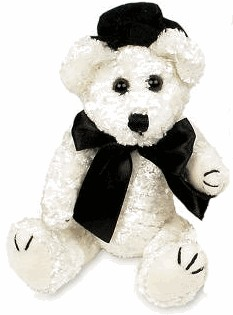 Mini Plush Groom Bear - Wedding Bear