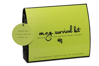 Mother of the Groom Wedding Day Survival Kit - Emergency Kit