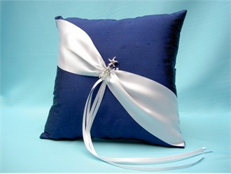 Nautical Theme Wedding Ring Pillow