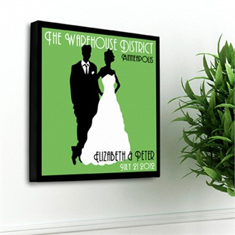 Personalized Studio Canvas Prints - in 6 Colors!