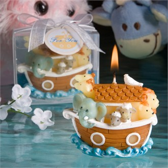 Noah's Ark Design Candles-9424