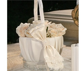 Orleans Flower Girl Basket