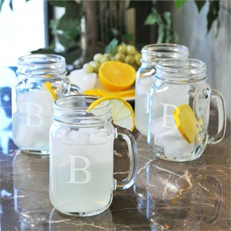 Set of 4 Classic Jars - Personalized!