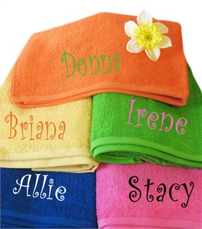 Custom embroidered towels free embroidery patterns for The queensboro shirt company