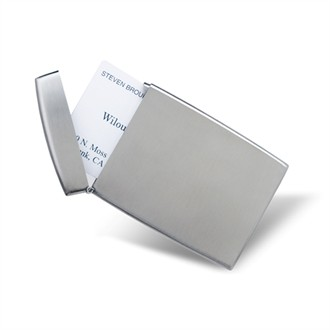 Flip Top Business Card Holder - Can Be Personalized!