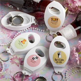 Personalized Expressions Collection Bottle Opener/Key Chain  Favors-6724ST