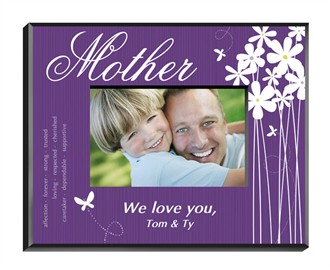 Personalized Butterfly Frame - For Mother, Grandmother, Family, and Friend!