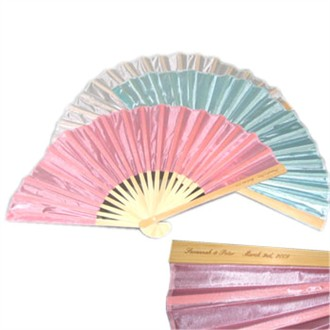 Personalized Fans - Personalized Wedding Fans in 3 Colors