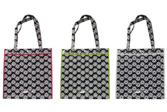 Daisy Tote Bag - Choose from 3 Colors!  Personalized It!