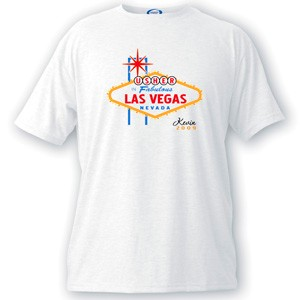 Personalized Vegas Bachelor Party Usher Tee