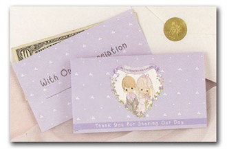 Precious Moments Gratuity Envelopes