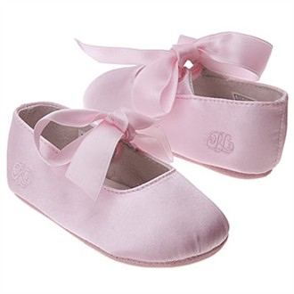 Baby Pink Ballet Slippers by Ralph Lauren Layette
