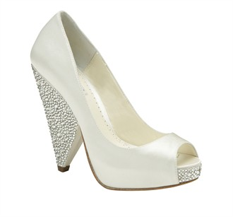Rhianna Wedding Shoes by Benjamin Adams