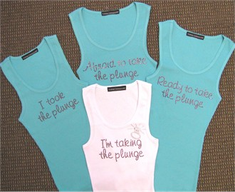 Taking the Plunge Bridal Party Shirts