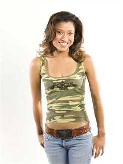 The Bride's in Camo! Tank