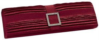Red Clutch Handbag