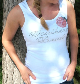 Southern Bride Rhinestone Tank or Tee
