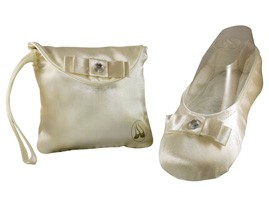 Spare Soles Foldable Shoes - Ivory Foldable Ballet Flats