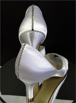 Kristie Ann Couture Shoes - Stunning Seams Bridal Shoes