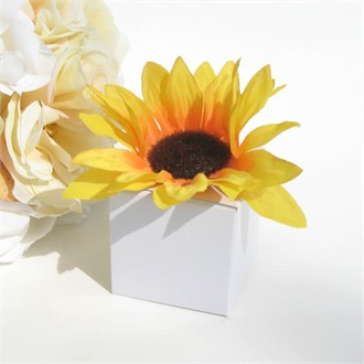 Spring Favors Sunflower Box Favors