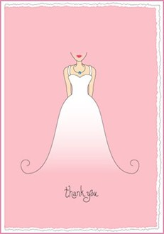 Thank You Card from the Bride
