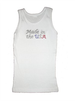 Made in (the USA) Tank or Tee