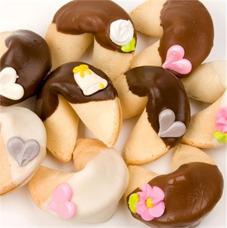 Wedding Fortune Cookies-CLASSIC STYLE-Individually Wrapped -Bulk
