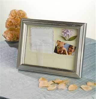 A Lifetime of Love Wedding Shadow Box Frame