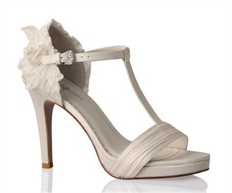 Supreme T-Strap Wedding Shoes by Allure Bridals Footwear
